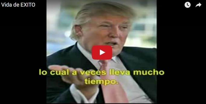 """""""Piensa en grande"""", el vídeo motivador de Donald Trump"""