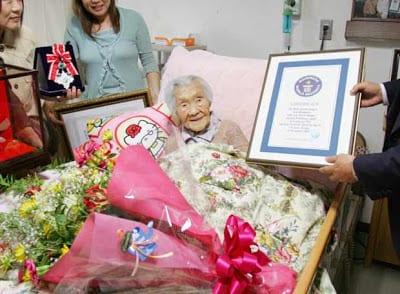 Las mujeres japonesas son las más longevas