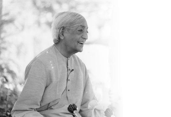 Audio: Krishnamurti y la educación