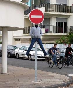 señal prohibido