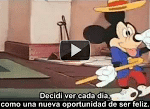 "Vídeo: ""Decidí triunfar"" por Walt Disney"