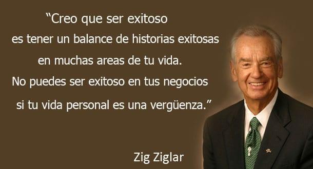 Una de mis citas preferidas de Zig Ziglar