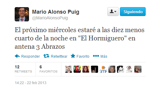 Twitter Mario alonso Puig