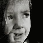 niña miedo