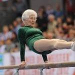 Una gimnasta de 87 años