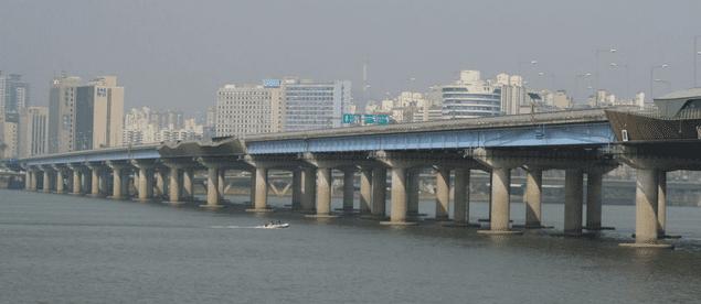 El Puente de la Vida, el lugar más visitado de Corea del Sur