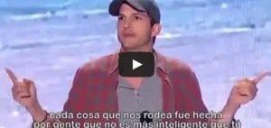 Ashton Kutcher discurso