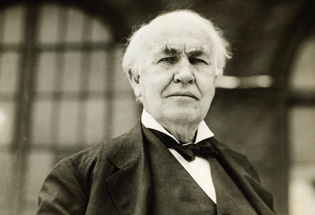 Thomas Edison fue un genio