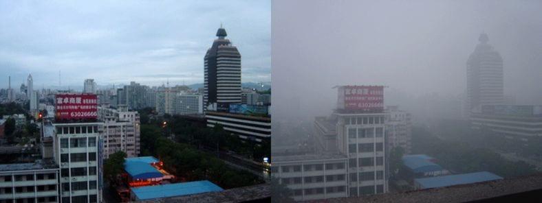 contaminacion en china