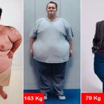 """""""EL Buñuelo"""" adelgazó 183 kilos"""