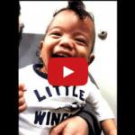 Niño sordo de 22 meses comienza a oír gracias a un implante coclear… Su reacción es fantástica