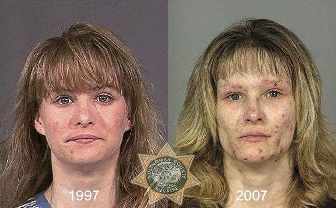 efecto de las drogas