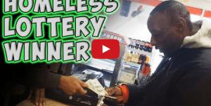 vagabundo gana la loteria