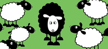 Ser la oveja negra de la familia