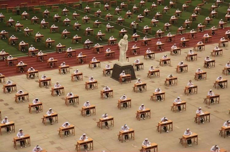 examen enfermeria china