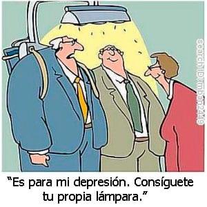 luz depresion