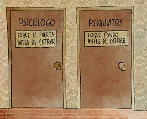 diferencias psicologo psiquiatra