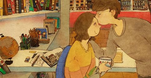 Estos 40 reconfortantes dibujos te mostrarán en qué consiste el amor verdadero