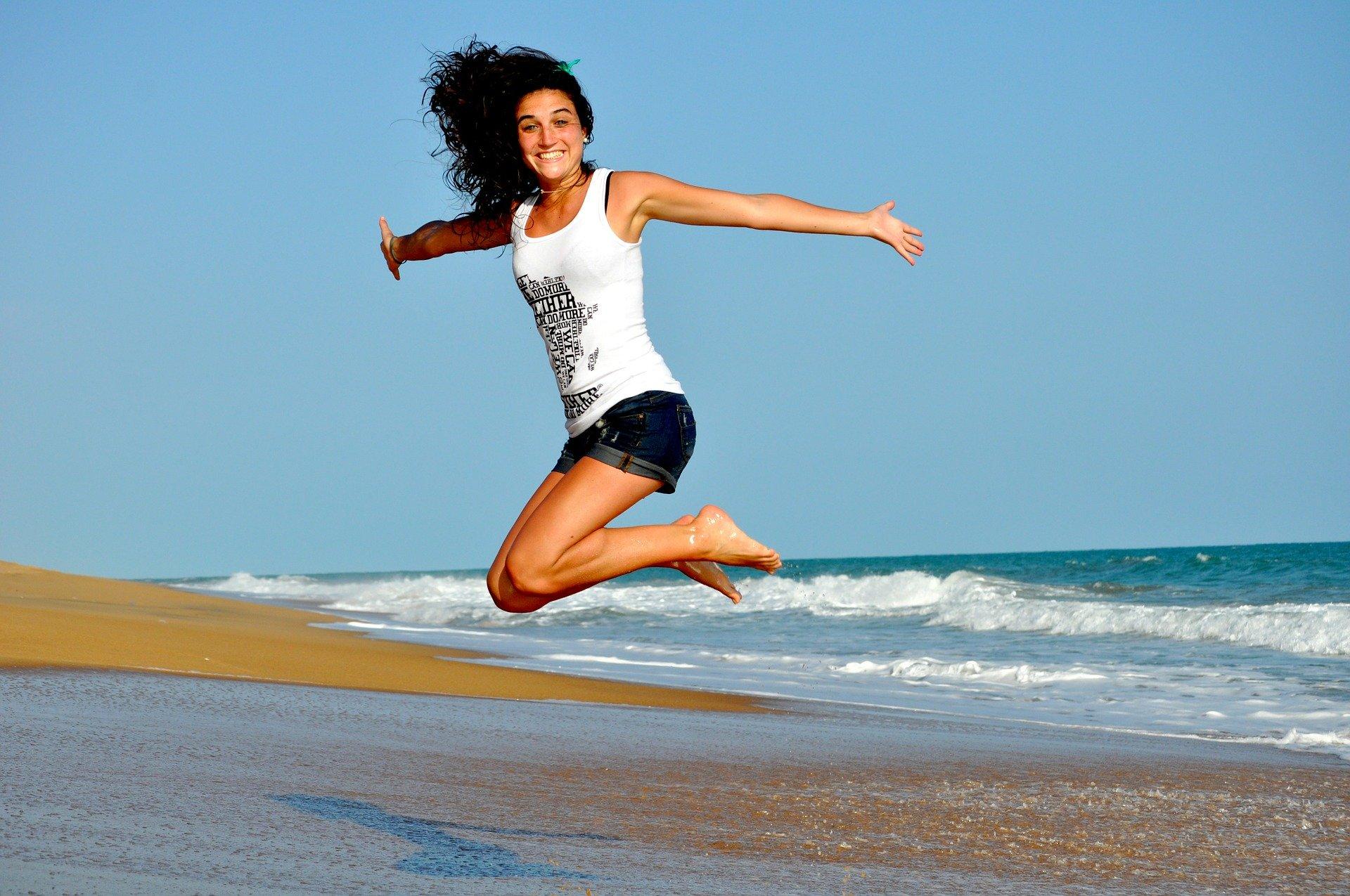 Sal y disfruta de la vida