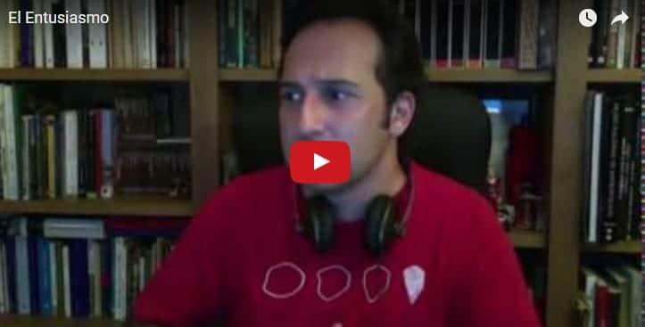 """Iker Jiménez y su inspirador vídeo sobre """"El entusiasmo"""""""