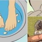 Ponga sus pies en un balde de agua con ajos y fíjese en los cambios que suceden en su cuerpo