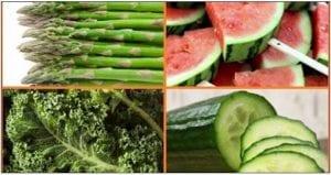 alimentos bajos en calorias