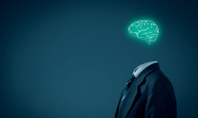 Persona con pensamiento analítico
