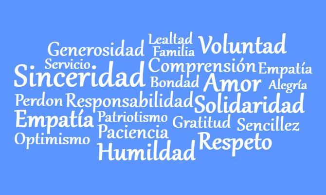 Lista de valores