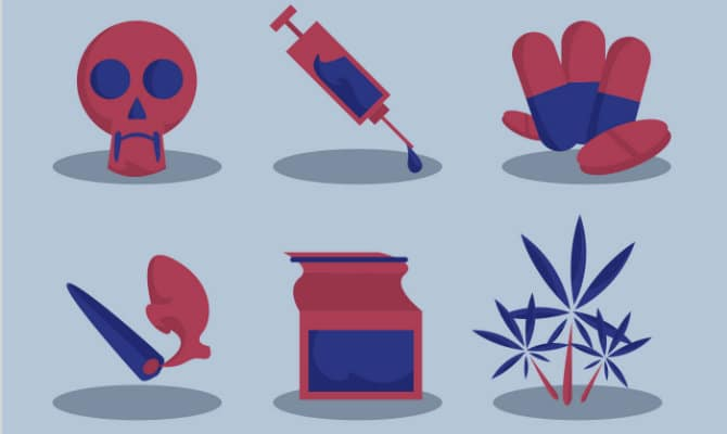 Tipos de drogas existentes y sus características