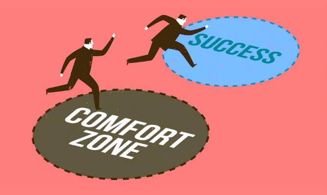 Salir de la zona de confort con estas recomendaciones