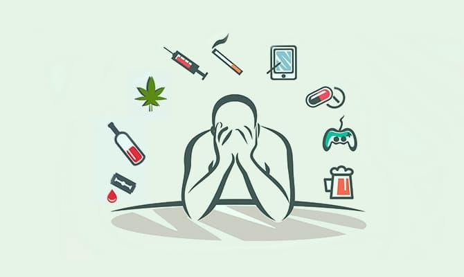 Conoce todos los tipos de adicción (químicas, conductuales y más)