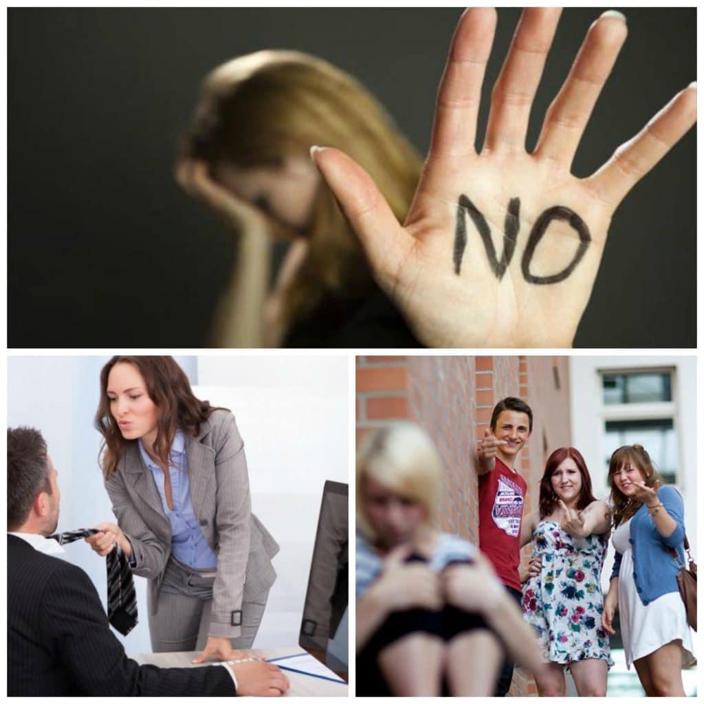 Conoce los distintos tipos de acoso