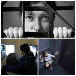 La claustrofobia, características y remedios