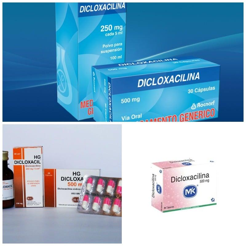 La dicloxacilina, qué es y para qué sirve