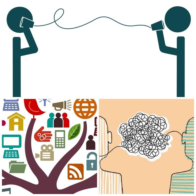 Los principales tipos de comunicación