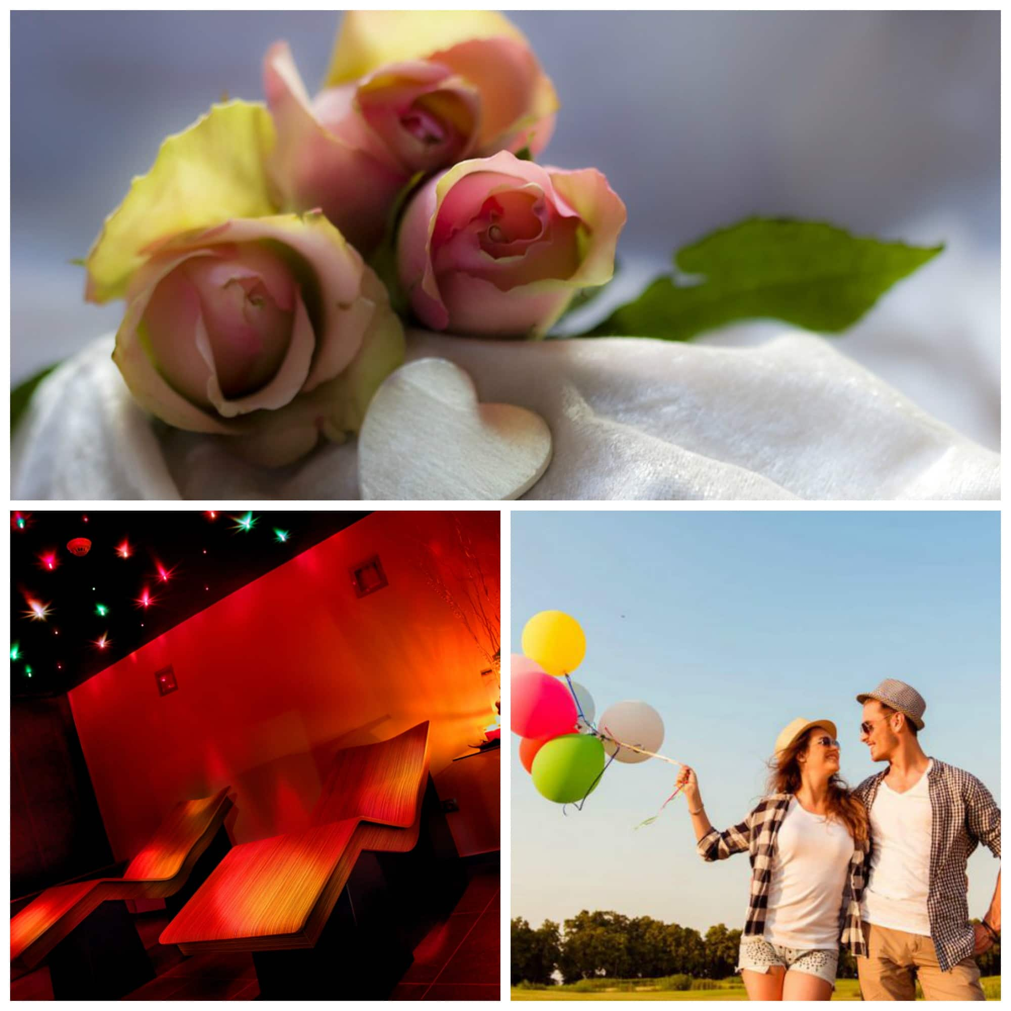 Románticos planes para parejas enamoradas