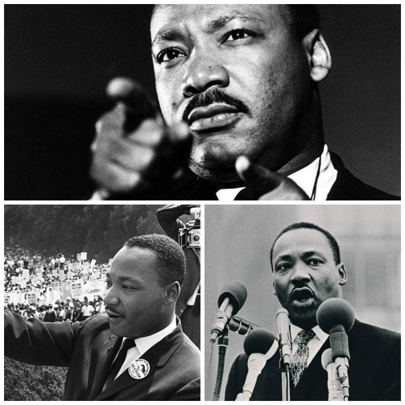 Listado con las principales frases de Martin Luther King