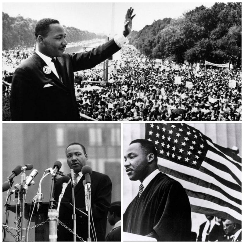 Listado con las principales frases de Martin Luther King b
