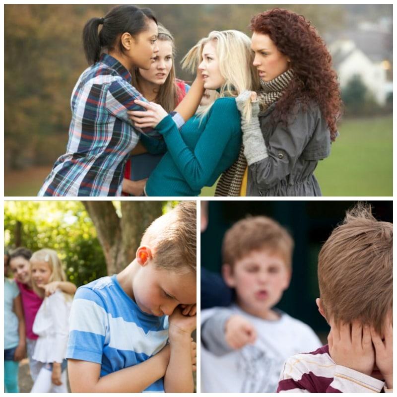 Los tipos de bullying más habituales