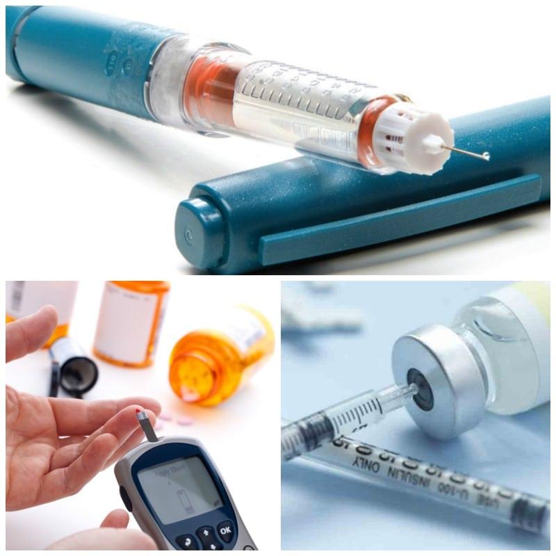 Todos los tipos de insulina