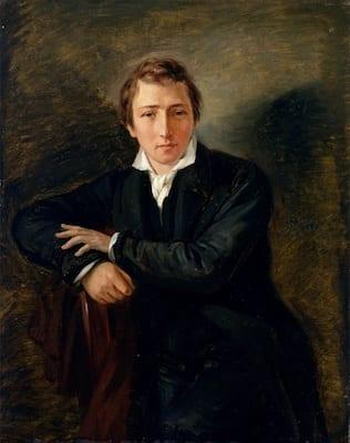 Retrato de Heinrich Heine en el romanticismo