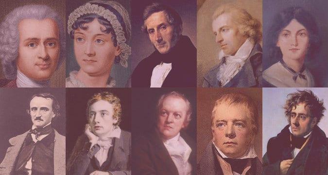 Autores del romanticismo
