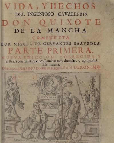 Don Quiote de la Mancha de Miguel de Cervantes