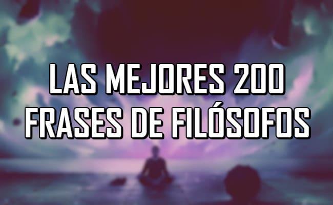 200 Frases De Filósofos Que Invitan A La Reflexión