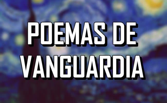 11 Poemas de Vanguardia hechos por escritores reconocidos