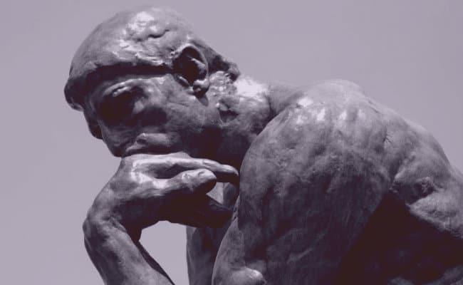 Estatua de filósofo