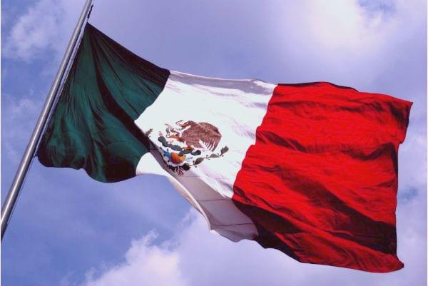 bandera del reino de mexico