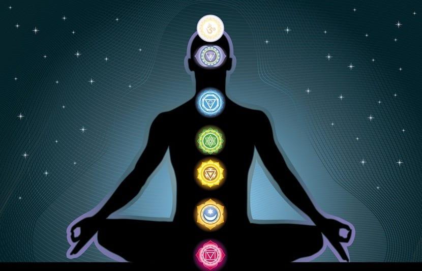 los chakras en el cuerpo