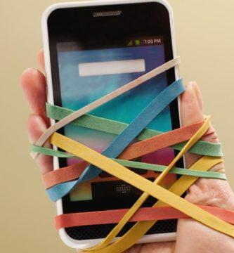 ser adicto al móvil
