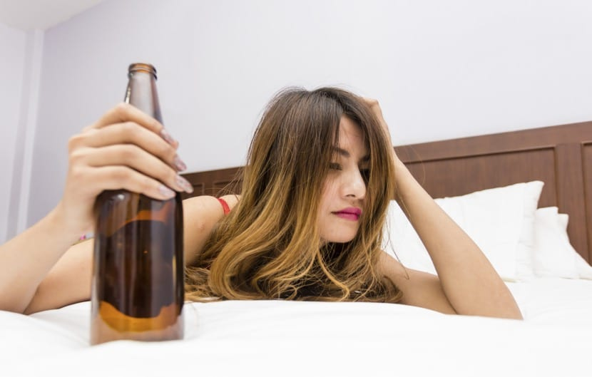 chica borracha